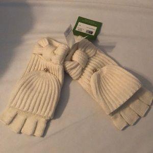 Kate Spade fingerless gloves